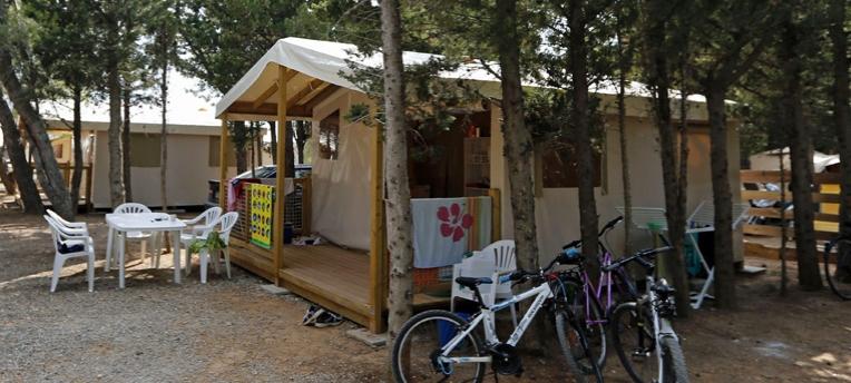 Zelt 2 Zimmer : Ecolodge zelt personen zimmer le clapotis